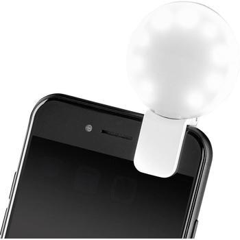 Basetech Aufsteckblitz für Selfies IF200