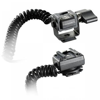 Walimex Spiral-Blitzkabel Olympus/Panasonic TTL 2m