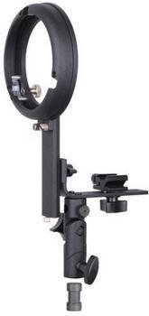 Bresser BR-TL15 Kamerablitzhalter mit S-Bajonett Zubehöradapter