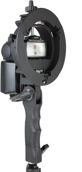 Quenox Speedring-Adapter für Aufsteckblitze an Bowens-Lichtformern