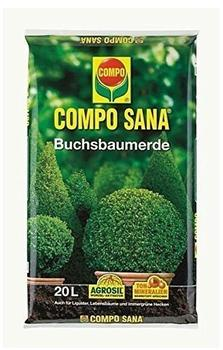 Compo Sana Buchsbaumerde 20 Liter