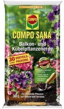 Compo Sana Balkon- und Kübelpflanzenerde 30 Liter