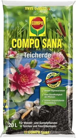 Compo Sana Teicherde 20 Liter
