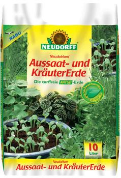 Neudorff NeudoHum Aussaat- und Kräutererde 10 Liter