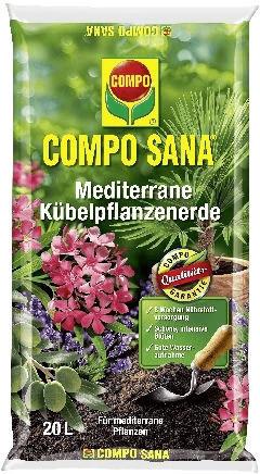 Compo Sana Mediterrana Kübelpflanzenerde 20 Liter