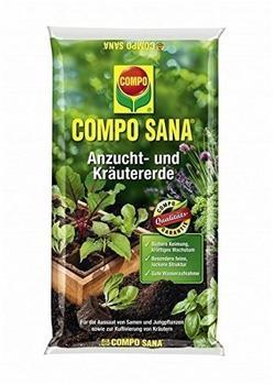 Compo Sana Anzucht- und Kräutererde 10 Liter