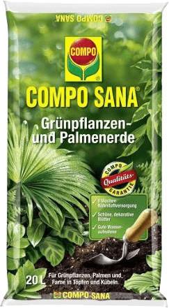 Compo Sana Grünpflanzen- und Palmenerde 20 Liter