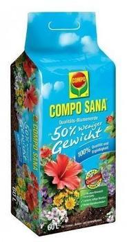Compo Sana Qualitäts-Blumenerde (50% weniger Gewicht) 60 Liter