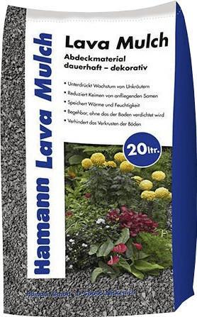 Hamann Lava Mulch 8-16 mm (20 L) anthrazit
