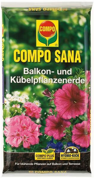 Compo Sana Balkon- und Kübelpflanzenerde 50 Liter