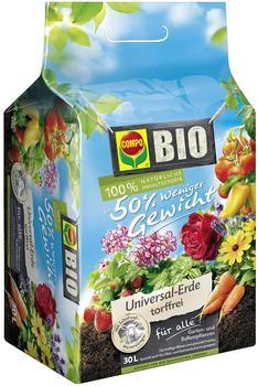 Compo Bio-Universalerde mit Schafwolle 30 Liter