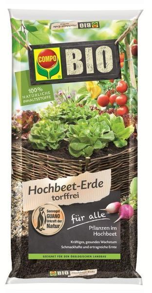 Compo Bio Hochbeeterde torffrei, 20 Liter