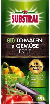Substral Bio Tomaten- und Gemüseerde 40 Liter
