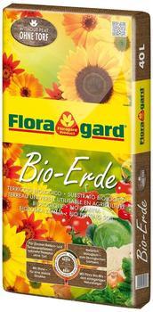 Floragard Bio-Erde ohne Torf 40 Liter