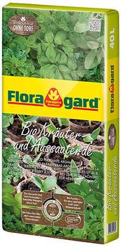 Floragard Bio-Kräuter- und Aussaaterde 40 L