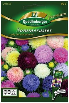 Quedlinburger Saatgut Sommeraster Lady Coral Mischung