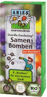 Aries Guerilla Gardening Samenbomben Klassik