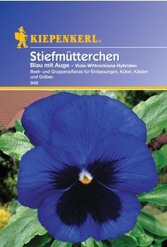 Kiepenkerl Stiefmütterchen Viola blau mit Auge