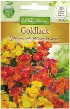 Chrestensen Goldlack Mischung einfachblühender Sorten