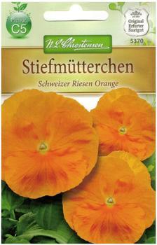 Chrestensen Stiefmütterchen Schweizer Riesen Orange