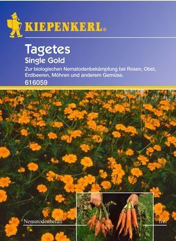 "Kiepenkerl Tagetes ""Single Gold"""