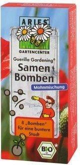 Aries Guerilla Gardening Samenbomben Mohnmischung