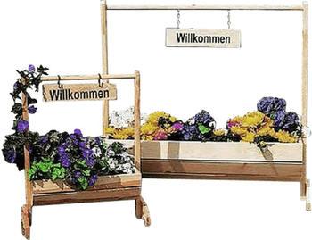 Promex Blumentrog groß natur