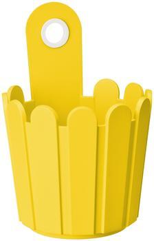 Emsa Landhaus Fässchen 15x22cm gelb