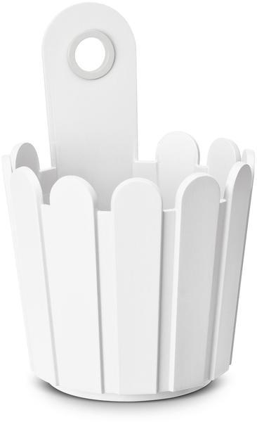 Emsa Landhaus Fässchen 15x22cm weiß