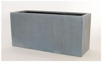 Eleganteinrichten Blumentrog 100x40x50cm anthrazit grau