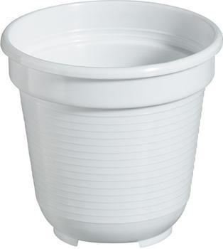 geli Blumentopf Standard 40cm weiß