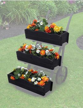Promex Blumenkästen für Blumenkarre (3er)