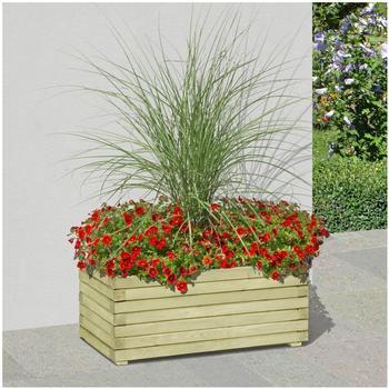 Gartenpirat Pflanzkasten Holz (80 x 40 x 35 cm)
