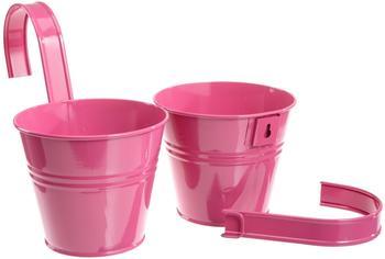 siena-garden-blumentopf-inkl-halter-2er-set-pink