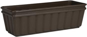 Emsa Balcone Blumenkasten 50x17x15cm Wooden Dark Brown