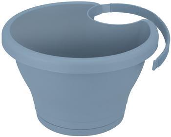 Elho corsica drainpipe clicker 24cm vintage blau