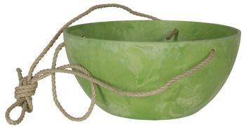 Artstone Blumenschale 12cm grün pastell
