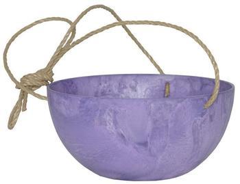 Artstone Blumenschale 12cm violett pastell