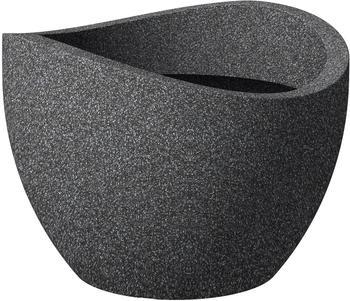 Scheurich Wave Globe 50cm schwarz/granit