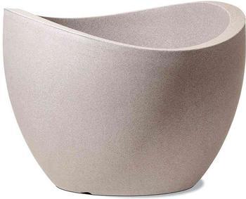 Scheurich Wave Globe 50cm taupe/granit