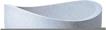 Scheurich Wave Globe 50cm weiß/granit