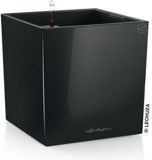 Lechuza Cube 40 All-in-One Set schwarz hochglanz
