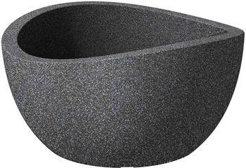 Scheurich Pflanzschale Wave Globe Ø40cm Schwarz/Granit