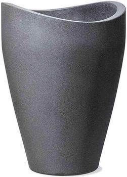 Scheurich Wave Globe High Ø30cm Schwarz/Granit