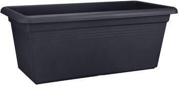 Elho Green Basics XXL Pflanzkübel 60x30x28cm schwarz