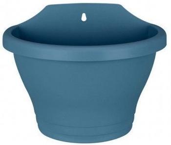 Elho corsica wall basket 25cm vintage blau