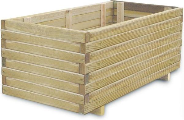 vidaXL Holz Pflanzenkasten 41660