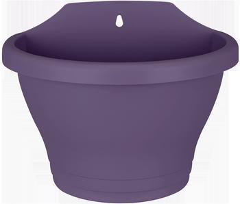 Elho corsica wall basket 25cm trauben lila