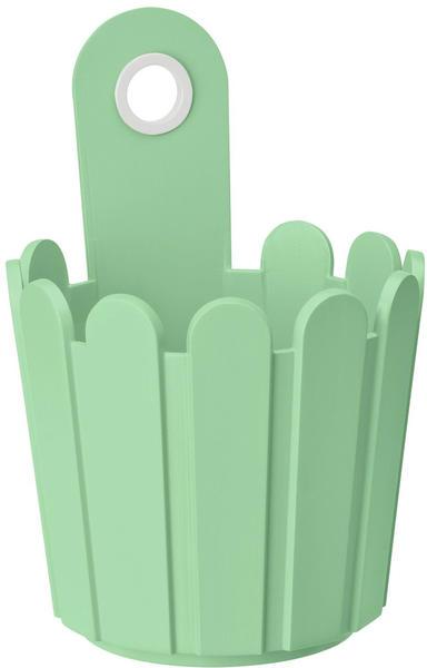 Emsa Landhaus Fässchen 15x22cm weißgrün
