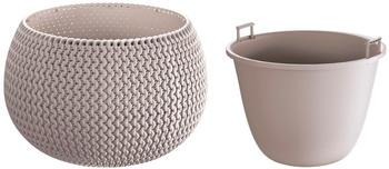 prosperplast-splofy-bowl-29x19-cm-mocca